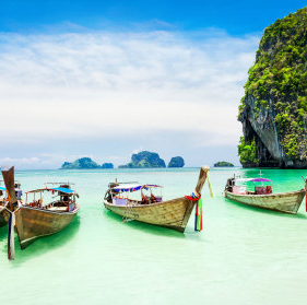 SQUARE - Thailand boats