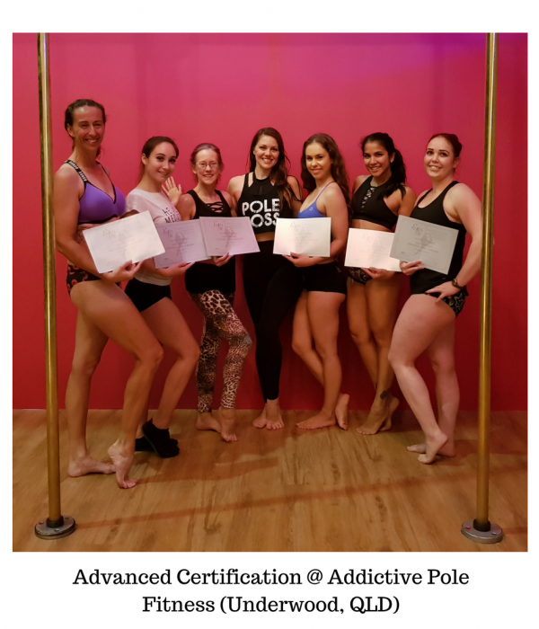 Advanced Certification @ Addictive Pole Fitness (Underwood, QLD)